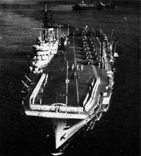 Royal Navy aircraft carrier HMS Eagle 1956 5x4 Inch Reprint Photo