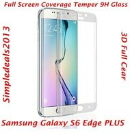 FULL CURVED CLEAR TEMPER GLASS SCREEN PROTECTOR FOR SAMSUNG GALAXY S6 EDGE PLUS