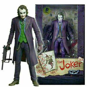 7'' NECA Action Figure Joker Batman Dark Knight Heath Ledger DC Movie Universe