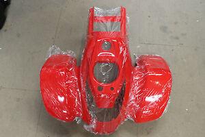SMC front body plastics red