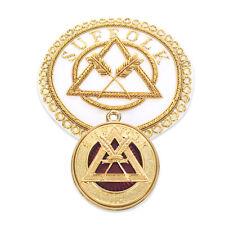 Ra Chapitre Provincial Badge & Bijou de Collier