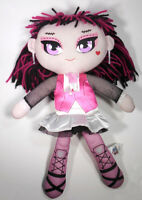 "DRACULAURA 18"" Monster High Plush stuffed Vampire doll Yarn Hair pillow buddy"