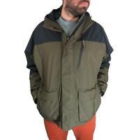 Cabelas Men's Gore-Tex Performance Shell Rain Jacket 2XL Fishing Hunting Coat