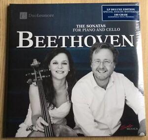 SEALED NEW Analog LP DUO LEONORE Beethoven Cello Piano Maja WEBER Per LUNDBERG