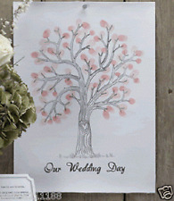 Wedding VINTAGE AFFARE Fingerprint ALBERO CANVAS alternativa GUEST BOOK