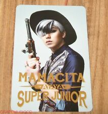 SUPER JUNIOR SJ MAMACITA AYAYA SM LOTTE POP UP SUNGMIN PHOTOCARD PHOTO CARD NEW