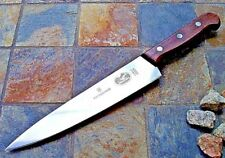"Victorinox CHEF'S Knife 7.5"" Blade Rosewood Handle Kitchen Cutlery 40026 NEW!"