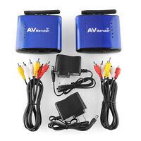Wireless 200m 5.8GHz AV Sender TV STB Audio Video Transmitter Receiver IR Remote