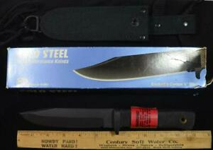 Vintage Cold Steel Survival Recon made in USA Carbon V Steel New in Box w sheath