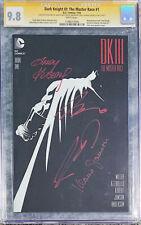 CGC SSx4 9.8 Batman Dark Knight III: Master Race #1 Quad Signed, Frank Miller +3