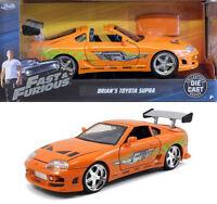 1995 Toyota Supra Fast & Furious Brian orange 1:24 Jada Toys 97168