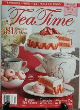 Tea Time Jan Feb 2017 Annual Valentine Issue Recipes & Ideas FREE SHIPPING sb
