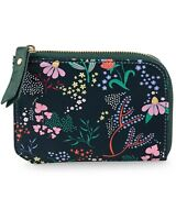 Oliver Bonas Richi Floral Navy Printed Pouch RRP £18 BNWT