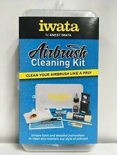 Genuine Anest Iwata Airbrush Cleaning Kit & Maintenance Tools Full Set CL 100 JP