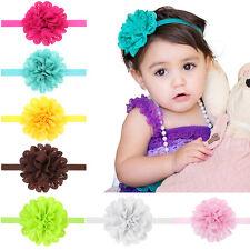 10Pcs Girl Kids Baby Infant Toddler Bow Flower Headband Hair Band Headwear Gift