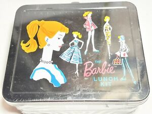 New Sealed Limited Edition 1998 Mattel Hallmark The Barbie Tin Lunch Box Kit