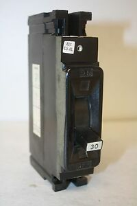 Lot of 2 - FEDERAL PACIFIC FPE NEF213030 CIRCUIT BREAKER