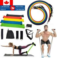 17/11/5Pcs Set Resistance Bands Workout Exercise Yoga Fitness Home Training Tube