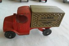 1930-1931 Vtg TootsieToy us mail  air mail service Tootsie Toy Truck Rare HTF