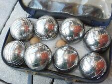 VINTAGE OBUT dog FRANCE JEU BOULES de PETANQUE 560g 73mm 7.3cm ball game bowling