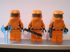 Lego HALO Trio Orange SPARTAN MASTER CHIEF Minifig NEW