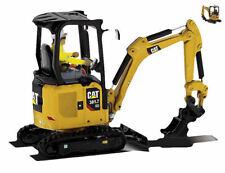 Cat 301.7 Cr Hydraulic Excavator 1:50 Model DIECAST MASTERS