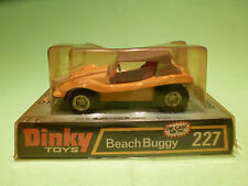 DINKY TOYS 227 BEACH BUGGY - YELLOW - RARE SELTEN - GOOD CONDITION IN BOX