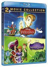 Peter Pan 1 & 2: Return to Neverland - 2-Movie Pack [Blu-ray Set, Region Free]