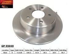 Disc Brake Rotor-RWD Rear Best Brake GP55049