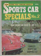 Sports Car Specials 2 Corvette V8 Jaguar XK120 Ferrari 250 Sunbeam Alpine Borgwa
