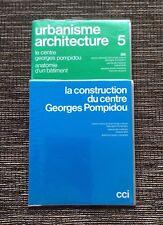 Rare Vintage Slides 1977 Architecture & Construction: Georges Pompidou Center
