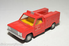 DINKY TOYS 267 PARAMEDIC FIRE ENGINE NEAR MINT CONDITION