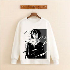 Noragami Anime Manga Sweatshirt shirt Hoodie Pullover Pulli weiß Neu