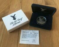1987 Mexico Libertad Onza Silver Proof - Original Packaging - Scarce!