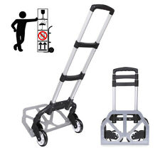 Portable Folding Hand Truck Dolly Luggage Carts Handling/Travel/Shopping Easy