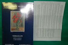 catalogue vente enchères VERSAILLES Tableaux modernes + liste prix de vente (17)