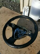 SUBARU FORESTER SG5 SG9 MOMO LEATHER STEERING Wheel 3