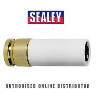 """Sealey Rueda de la aleación impacto Socket 19 mm de 1/2 """"Sq Disco Cromo Molibdeno sx03019"""