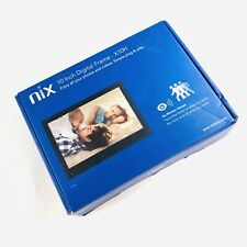 Nix X10H 10 inch Digital Photo Frame - Black Brand New Opened Box