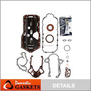 Fits 95-03 Buick Chevrolet Oldsmobile Pontiac 3.8L OHV Lower Gasket Set VIN K 1