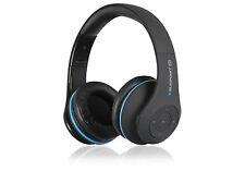 Blaupunkt Bluetooth Kopfhörer 4.0 Stereo Musik Akku On-Ear wireless schwarz HPB