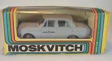 UDSSR USSR 1/43 Moskvitch 408 Taxi grau OVP #254