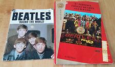 The Beatles Sgt Pepper's Souvenir Photo Book '87 + 'Round the World Magazine'68