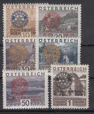Österreich  518-523 Luxus **, (750 Katalog)