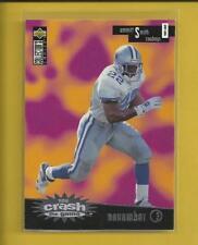 Emmitt Smith 1996 Collector's Choice You Crash the Game Card # CG21 Cowboys NFL