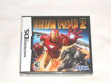 NEW Iron Man 2 Nintendo DS Game SEALED ironman ii Sega Marvel Tony Stark US NTSC