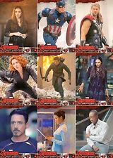 THE AVENGERS AGE OF ULTRON MOVIE 2015 UPPER DECK BASE CARD SET OF 90 MARVEL