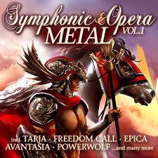 CD symphonic and Opera Metal volume 1 de various artists 2cds