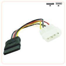 UN CABLE ADAPTADOR IDE MOLEX SATA  alimentación para DISCO DURO, SSD, DVD...