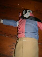 Folk Art Mexico   doll  hand made  cloth Vintage  Senor man #20